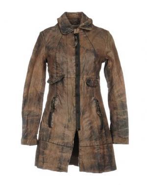 Легкое пальто FREAKY NATION. Цвет: светло-коричневый