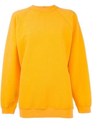 Базовая толстовка Aries. Цвет: жёлтый и оранжевый