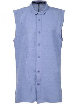 Рубашка без рукавов Ødd.. Цвет: синий