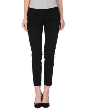 Повседневные брюки GOLD CASE. Цвет: черный