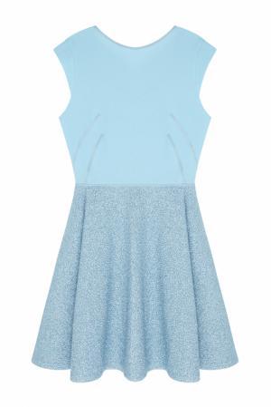 Платье NATALIA GART. Цвет: голубой