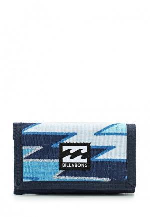 Кошелек Billabong. Цвет: синий