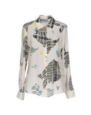 Pубашка LALA BERLIN. Цвет: бежевый
