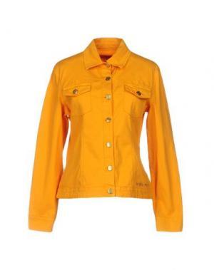 Куртка ANGELO MARANI. Цвет: оранжевый