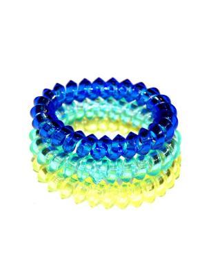 Резинки Lola. Цвет: желтый, синий, голубой