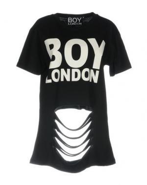 Футболка BOY LONDON. Цвет: черный