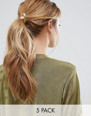 Kitsch Резинки для волос. Цвет: мульти