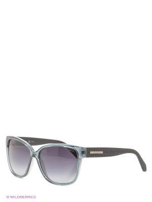 Солнцезащитные очки MAX & CO. Цвет: серо-голубой, черный