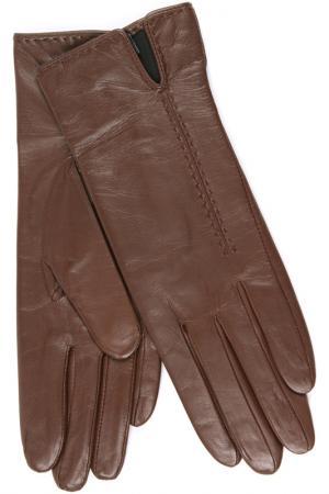Перчатки Dali Exclusive. Цвет: махагон