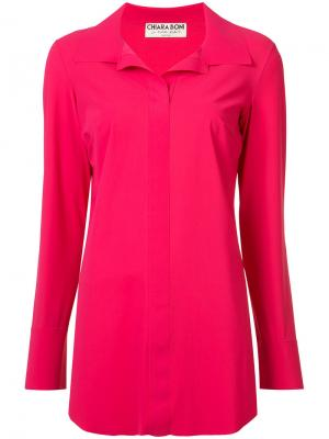 Рубашка Shiloh Chiara Boni La Petite Robe. Цвет: розовый и фиолетовый