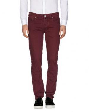 Повседневные брюки PT05. Цвет: пурпурный