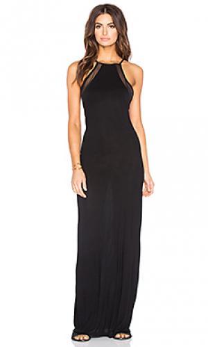Макси платье biarritz Issa de mar de'. Цвет: черный