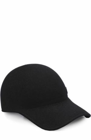 Фетровая кепка Maison Michel. Цвет: черный