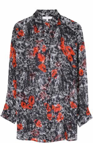 Блуза свободного кроя с принтом Iro. Цвет: разноцветный