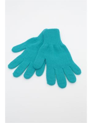 Перчатки FOMAS. Цвет: бирюзовый