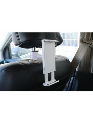 Крепление-держатель для планшета на стойки подголовника Blonder Home. Цвет: белый