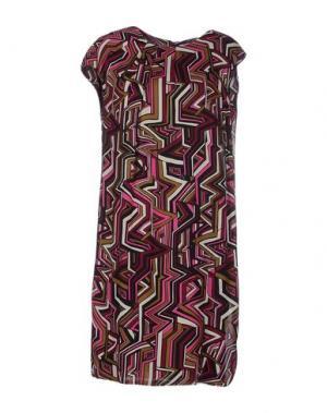 Короткое платье BINI COMO. Цвет: пурпурный