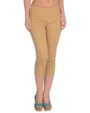 Пляжные брюки и шорты ERMANNO SCERVINO BEACHWEAR. Цвет: песочный