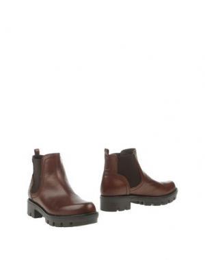 Полусапоги и высокие ботинки MAURO FEDELI. Цвет: какао