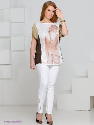 Брюки MAT fashion. Цвет: белый