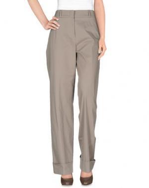 Повседневные брюки QL2 QUELLEDUE. Цвет: серый