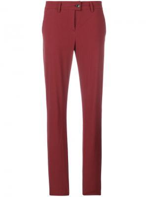Поплиновые брюки чинос Tomas Maier. Цвет: красный