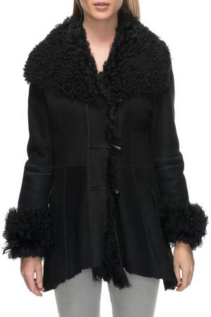 Sheepskin coat Jean Guise. Цвет: black