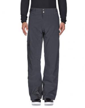 Повседневные брюки PEAK PERFORMANCE. Цвет: свинцово-серый