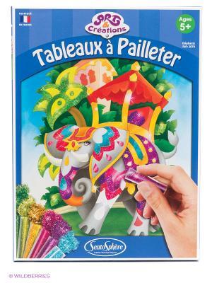 Набор для детского творчества Слоны SENTOSPHERE. Цвет: синий