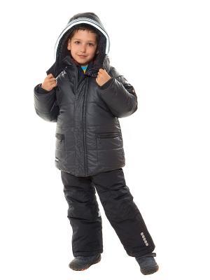 Куртка VELFI. Цвет: темно-серый