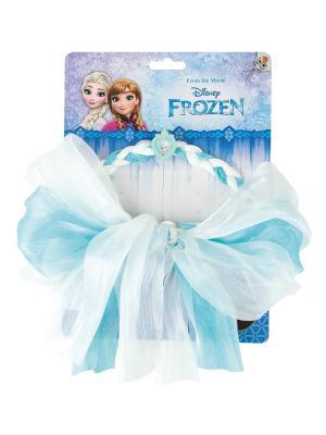 Многофункциональная лента для волос Зимняя принцесса Daisy Design. Цвет: голубой