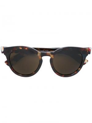 Солнцезащитные очки Barbes Ahlem. Цвет: коричневый