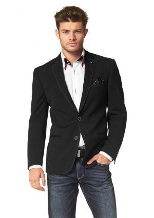 Пиджак BRUNO BANANI. Цвет: черный