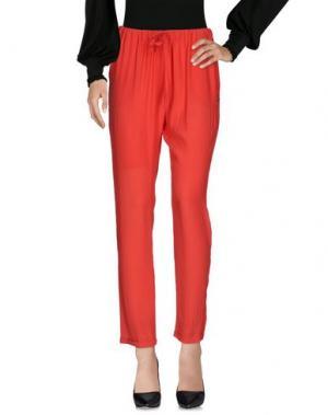 Повседневные брюки WOOLRICH. Цвет: коралловый