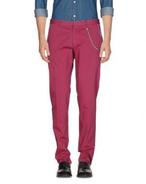 Повседневные брюки MANUEL RITZ. Цвет: розовато-лиловый