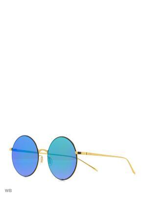 Солнцезащитные очки To be Queen. Цвет: зеленый