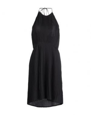 Платье до колена JUST IN CASE. Цвет: темно-коричневый
