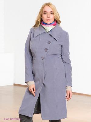Пальто Klimini. Цвет: сиреневый