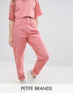 Waven Petite Свободные джинсы в винтажном стиле Elsa. Цвет: розовый