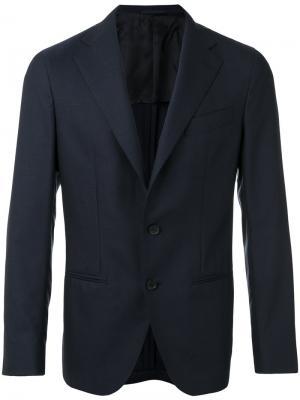 Классический пиджак Caruso. Цвет: синий