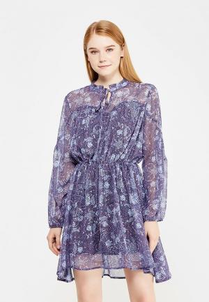 Платье Top Secret. Цвет: синий