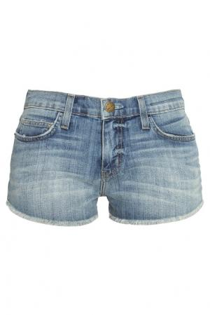 Джинсовые шорты Current/Elliott. Цвет: голубой