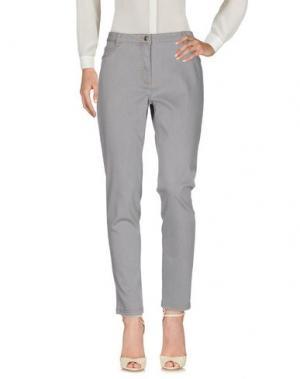 Повседневные брюки BARBARA LEBEK. Цвет: серый