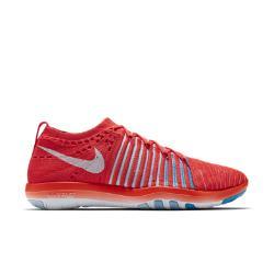 Женские кроссовки для тренинга  Free Transform Flyknit Nike. Цвет: красный