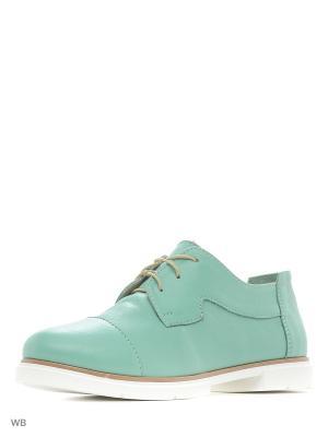 Ботинки Laura Valorosa. Цвет: светло-зеленый