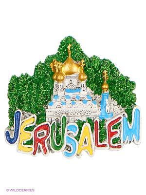 Магнит Храм Марии Магдалены Иерусалим 3D Bethlehem Star. Цвет: зеленый