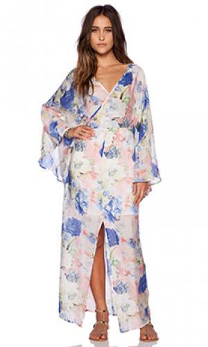Платье movement The Allflower Creative. Цвет: розовый