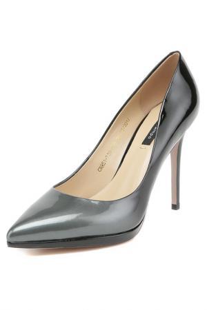 Туфли El Tempo. Цвет: черный,серый