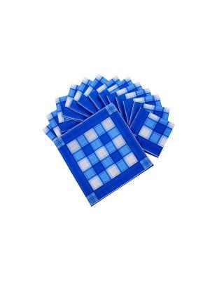 Носовой платкок (к-т 15 шт) ИМАТЕКС. Цвет: синий