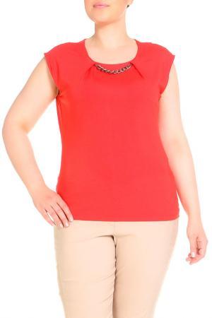 Блуза SARAH KERN. Цвет: красный